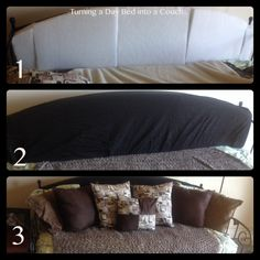 Bed To Couch On Pinterest Mattress Daybeds And Twin