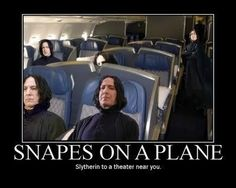 Nothing better than a hilarious Snape or Harry Potter meme.