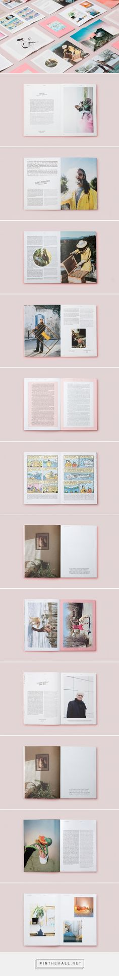 Perdiz Magazine — Issue #6 on Behance - created via https://pinthemall.net