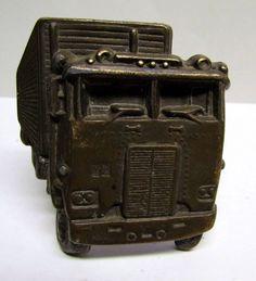 Vintage Belt Buckle, Semi-Truck by VINTAGEandMOREshop on Etsy https://www.etsy.com/listing/225046653/vintage-belt-buckle-semi-truck
