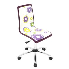 LumiSource Modern Printed Office Chair