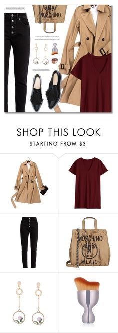"""Long Layers: Duster Coats"" by defivirda ❤ liked on Polyvore featuring Balenciaga, Moschino and lilah b."