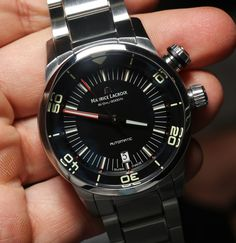 Maurice Lacroix Pontos S Diver Watch Hands-On: Wonderfully Modern