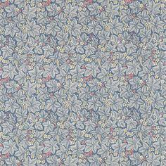 Bramble Fabric - Mineral/Slate (224462) - William Morris & Co Archive 3 Fabrics Collection