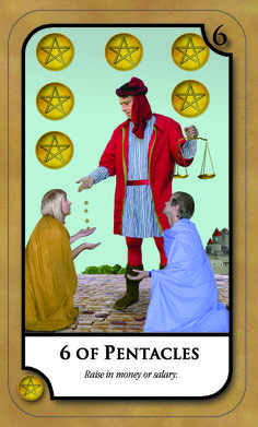 #SimplyTarotCard for Monday 20th March 2017 6 OF PENTACLES Raise in money or salary.  www.amandahallpsychic.com.au + Join our newsletter Lots of events and great special prices on products and services.  Like our FB Page https://www.facebook.com/amandahallpsychic/ Twitter: PsychicAmandaH Intsagram psychicamandah Pinterest:PsychicAmandaH Google+ : https://plus.google.com/u/0/