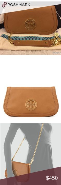 Tory burch Crossbody Brand new and Authentic Tory burch Crossbody and Clutch, 2 on 1!!!! 100%Leather, Super Elegant!!!! I can go lower on ️️ Tory Burch Bags Crossbody Bags