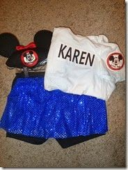Ideas on everything you need to create a race costume! #runDisney