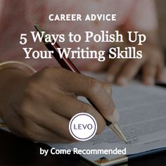5 Ways to Polish Up Your Writing Skills