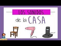 Jugamos a escuchar los sonidos de la casa_Discriminación sonidos - YouTube Giza, Sound Waves, Literacy, Musicals, Sons, Spanish, Science, School, Youtube