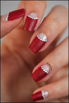 Dolce and Gabbana Inspired Stamped and Studded Nails!