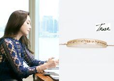 "Choi Ji-Woo 최지우 in ""Temptation"" Episode 1.  TRose 14K Rosegold Bracelet #Kdrama #Temptation #유혹 #ChoiJiWoo"