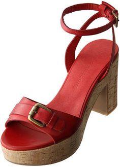 Cork platform sandal / ShopStyle: Fabio Rusconi コルクプラットフォームサンダル