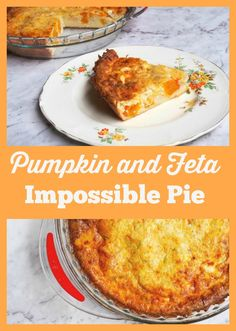 The savoury pie is perfect for Meatless Monday and the only impossible thing about this it is that it is impossibly good!