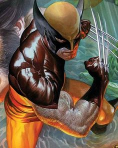 Death of Wolverine Art by Alex Ross and Pasqual Ferry — GeekTyrant