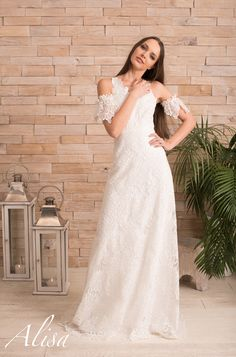 Lilou wedding dress collection Alisa Boho Dream to by at www.alisa.fr