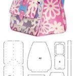 8 Moldes para hacer mochilas Patterns