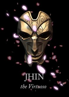 Jhin, the Virtuoso. modeled and rendered in zbrush, edited in photoshop