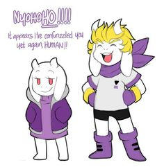 Undertale storyshift Toriel and Asgore