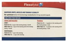 Flexofytol Biooptimized Turmeric Extract for Joints and Arthritis   180 GelCaps; -- Check out this great product. (This is an affiliate link)
