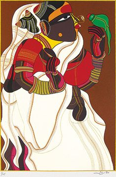 Thota Vaikuntam - Untitled Serigraph