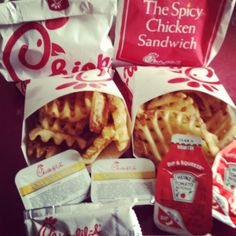 Chick fil a is my favorite!
