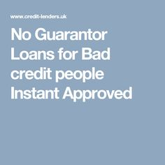 Need No Guarantor Loans on benefits? We offer fast loans for bad credit no guarantor, no credit check and no fees as direct lender UK. Instant decision loans without Guarantor. Fast Loans, Online Loans, Loans For Bad Credit, Credit Check, Got Online, How To Apply