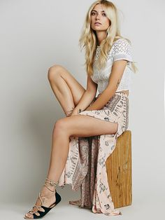 Spell & the Gypsy Collective Coyote Split Maxi Skirt at Free People Clothing Boutique