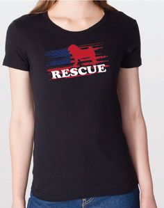 Every #pug deserves a second chance! Righteous Hound - Women's Rescue Pug  Tee, $24.00 (http://www.righteoushound.com/womens-rescue-pug-tee/)