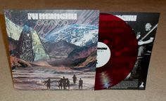 "FU MANCHU ""Gigantoid"" limited edition SEE THROUGH PURPLE vinyl!"