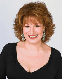 Joy Behar - yeah, I know, she's one of the biddies from The View and it's probably uncool to like her. but I love her face. Nobody looks annoyed with quite the same finesse over the same shit that annoys me like Joy Behar. So what, who cares? Hair Styles For Women Over 50, Medium Hair Styles, Curly Hair Styles, Hair Cuts For Over 50, Short Curly Hair, Wavy Hair, Short Hair Cuts, Thick Hair, Hairstyles Over 50
