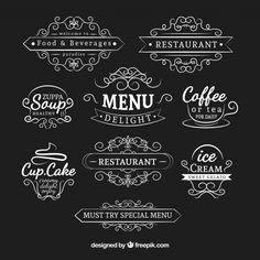 Resultado de imagen para caricaturas de rotulos de cafeteria