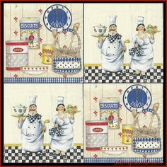 4 Paper Decoupage Napkins - Use For Crafts, Mixed Media, Scrapbooking, Collage And Altered Art Projects