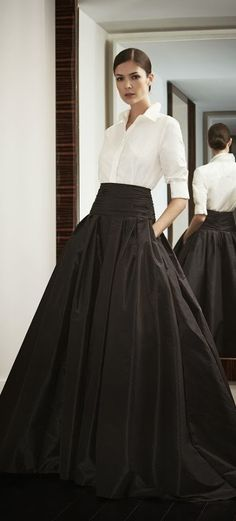 Look to Love: Beautiful Ball Skirts | La Dolce Vita, Ball Skirt by Carolina Herrera