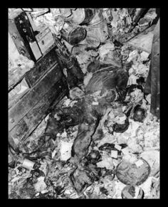 The Many Faces of Death: DEATH by Hoarding - The Collyer Brothers, USA Note decayed body at center of picture