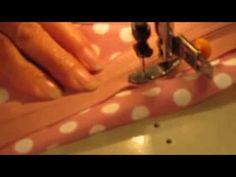 Cómo hacer un traje de flamenca para niña. Parte 1 - YouTube