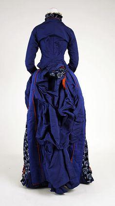 Dress Designer: Darlington, Runk & Co. (American) Date: 1880–85 Culture: American Medium: silk