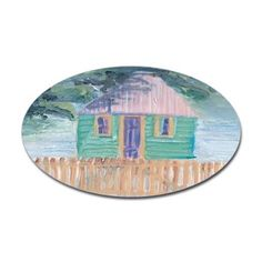 Green Tropical Home Decal - cool image from St Barth in the Caribbean