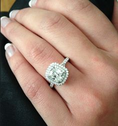 Tiffany & Co. Soleste Double Halo Ring Soleste
