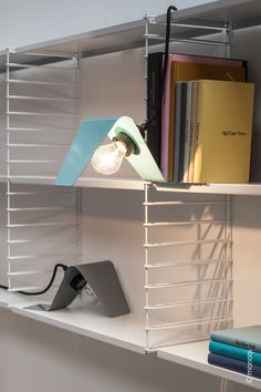 graph by form Archi Design, Indirect Lighting, Geometric Form, Industrial Design, Green And Grey, Bookcase, Bulb, Flooring, Home Decor
