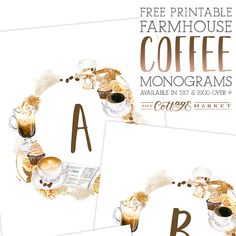 Hello everyone! It'sFRIDAYand that means one thing here at The Cottage Market…it's FREE PRINTABLE Day!!! Attention COFFEE LOVERS…We have a brand new Free Printable for you today that will add some FUN to your home!!! Free Printable Farmhouse Coffee Monograms plus Numbers and Punctuation so you can make Banners!  These farmtastic prints will be …