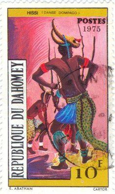 1975 Benin   -  Danse DOMPAGO