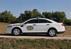 <p>The Missouri State Highway Patrol's Ford Police Interceptor sedan</p>