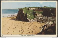 Tolcarne Beach, Newquay, Cornwall, 1956 - Postcard