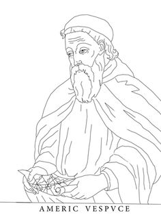 john cabot coloring pages - photo#14