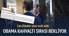 G-20 öncesi 'Türkiye'de güvenlik yok, Obama ABD gemisinde kalacak' diyen Can Dündar ve Cumhuriyet gazetesi rezil oldu