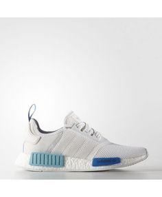 354cbab74e61f Adidas NMD R1 White Blue Glow. Luke Wynne · Adidas NMD