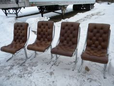 great shape clean vintage 1970s eames era mid century 5 piece DAYSTROM DINING DINETTE set    pick up only