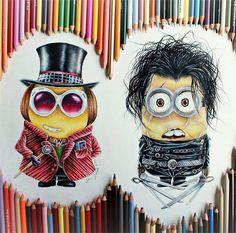Fun minion drawings