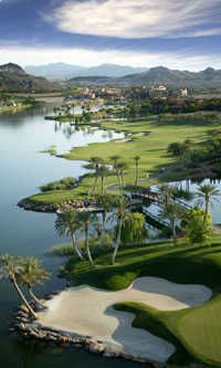 Reflection Bay Golf Course - Lake Las Vegas - Played this golf course with my husband. Incredibly beautiful course carved out of the desert!