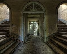 alysian-fields: fuckyeahghosttowns: Abandoned castle in East Germany.(photo by Andy Starflinger) This little castle in East Germany was built between 1709 and by Andy Starflinger. Abandoned Buildings, Abandoned Property, Abandoned Castles, Abandoned Mansions, Old Buildings, Abandoned Places, Beautiful Ruins, Beautiful Castles, Beautiful Buildings